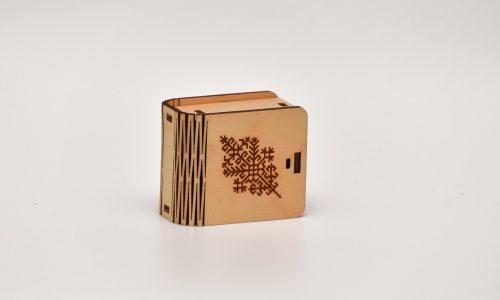 Mini kastīte (austras koks)
