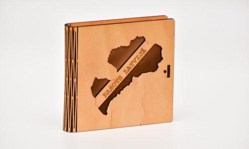 Krūžu paliktņu 4 kastīte (ražots Latvijā)
