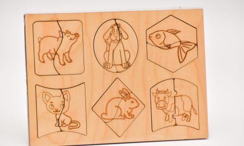 Koka puzzle (6x2)