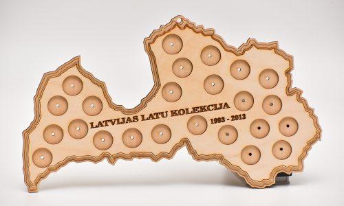 Latvijas latu kolekcija