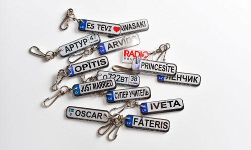 Atslēgu piekariņi (individuālie)