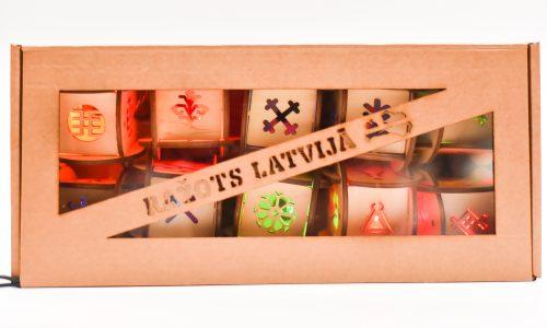 Virtene ar latvju zīmēm (6cm)